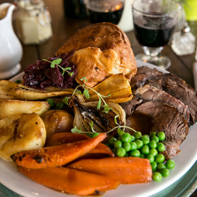 Quality Sunday food at The Rose and Thistle