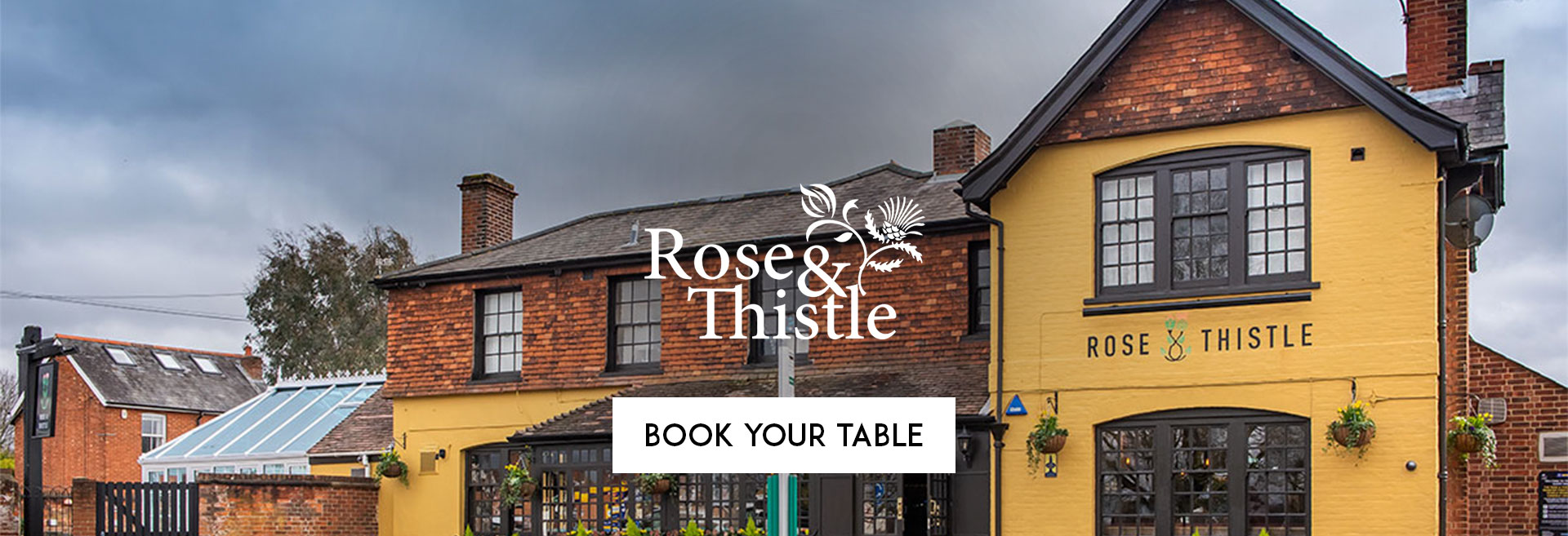 Book Your Table at The Rose and Thistle